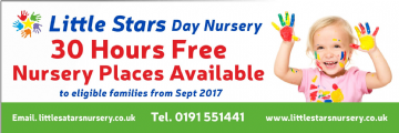 Nursery Places Available banner